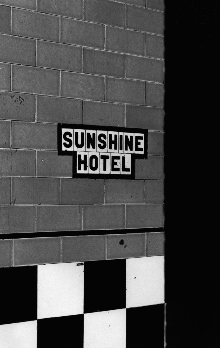 Sunshine Hotel ,  Bowery  NYC (large view)