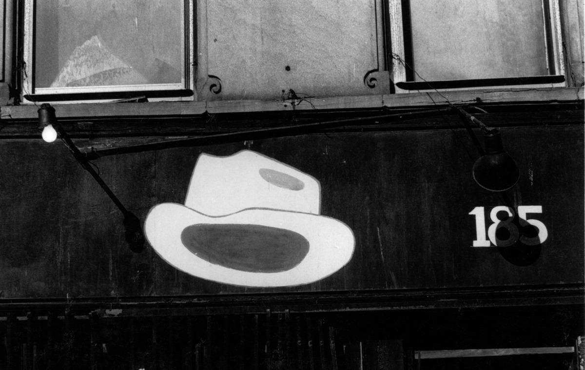 Hat Shop Sign 185 Malcolm X blvd, HARLEM  N.Y.C. (large view)