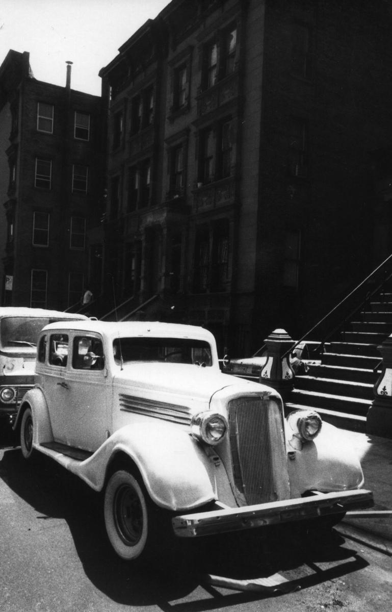 White Car ,  Harlem NYC (large view)