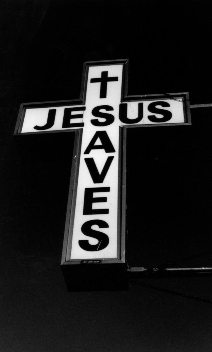Jesus Saves, Harlem, N.Y. (large view)