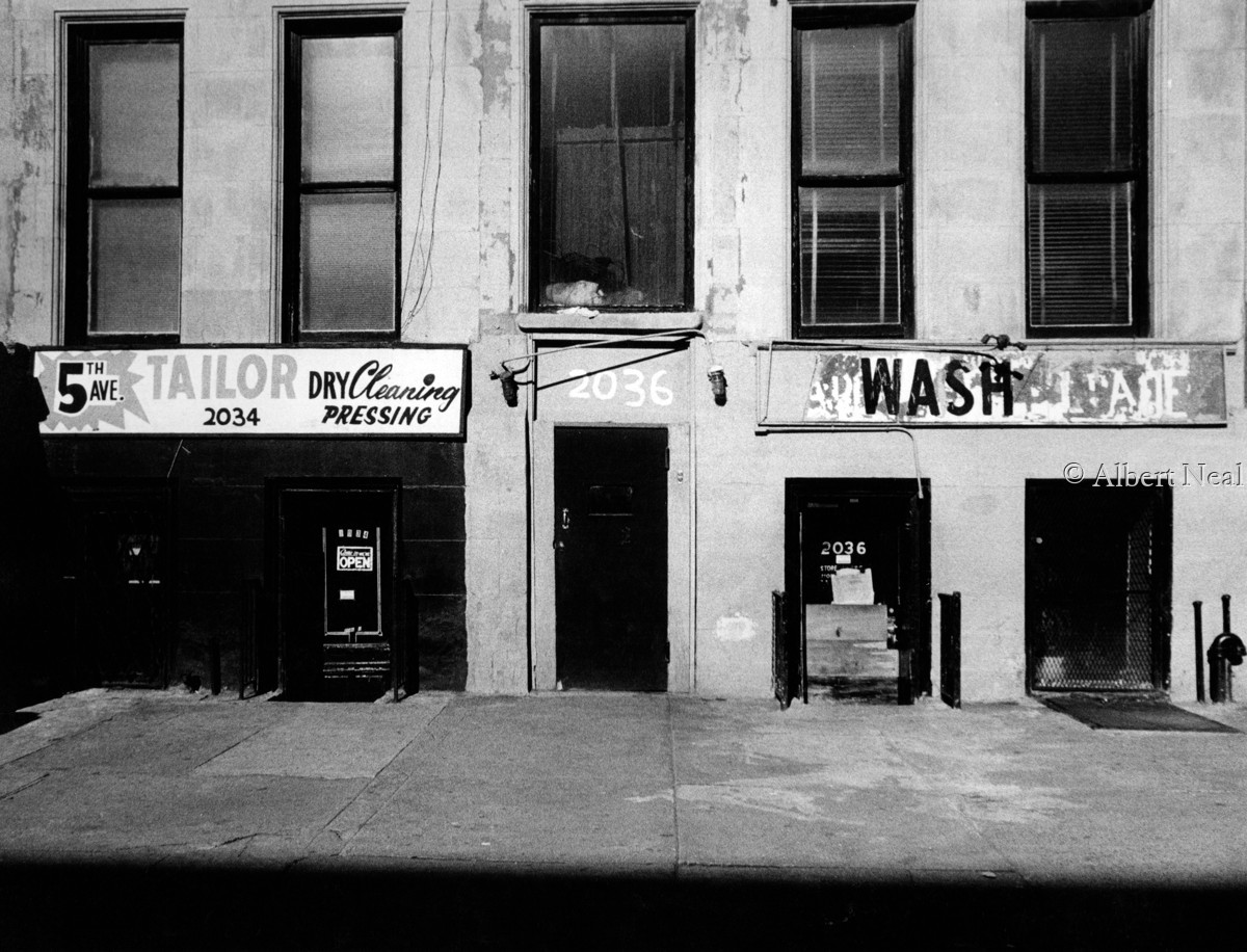 5th Ave. Tailor shop, Harlem N.Y.C. (large view)