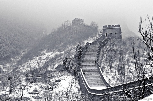 Great Wall in Fresh Snow