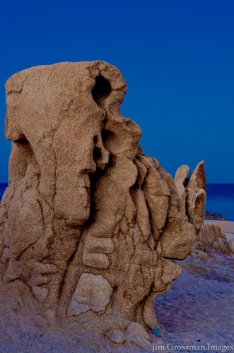 Picasso In Stone by Jim Grossman Images