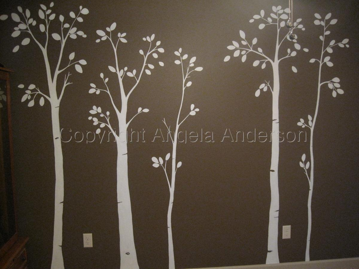 Birch Nursery Mural (large view)