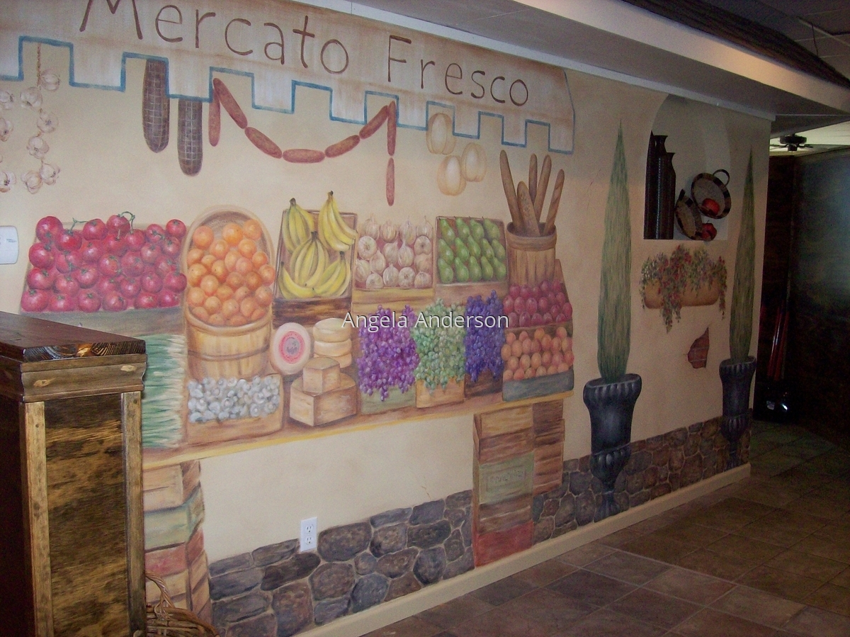 Pasta Grill Mural (large view)