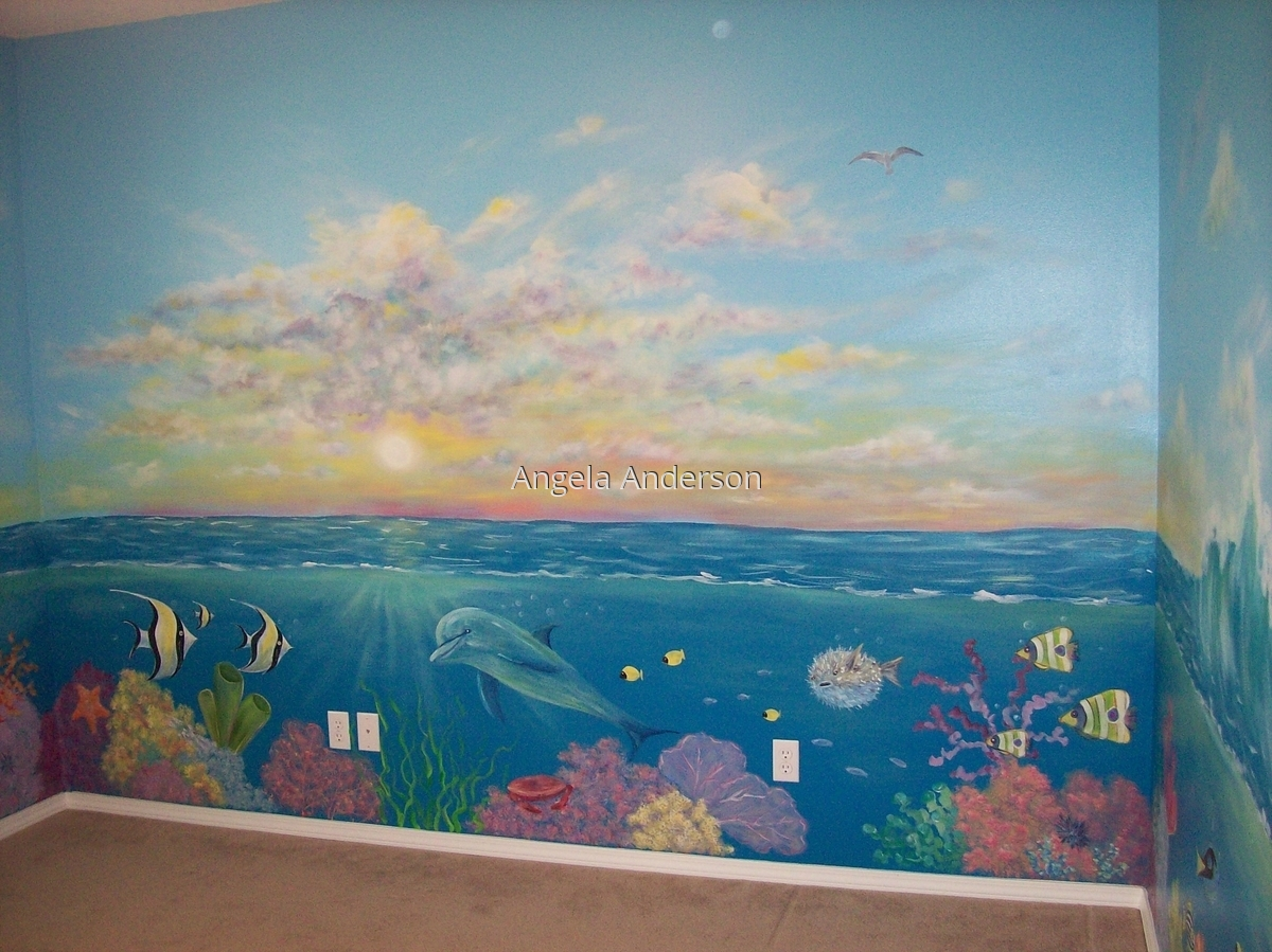 Under The Sea Mural (large view)
