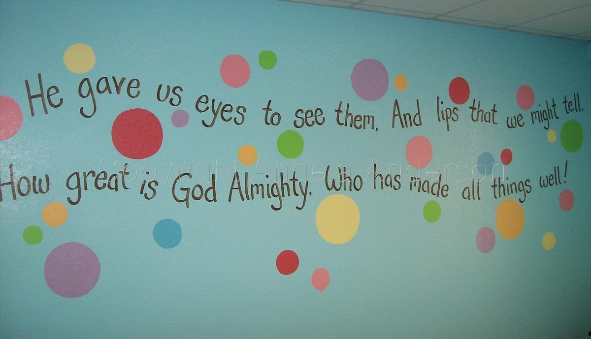 Sunday School Mural (large view)