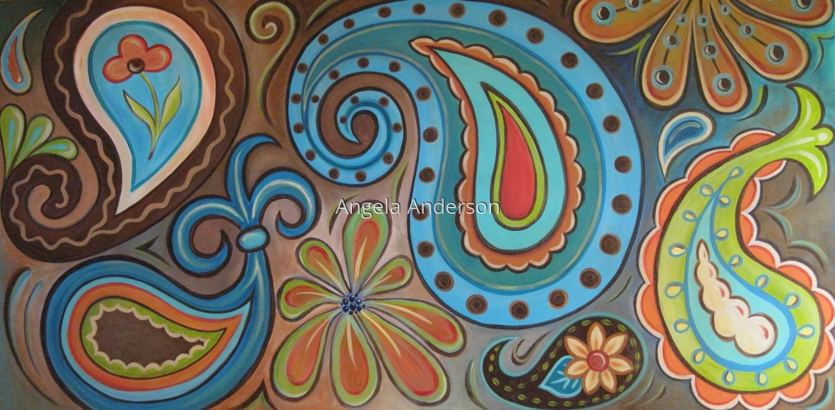 Funky Paisley (large view)