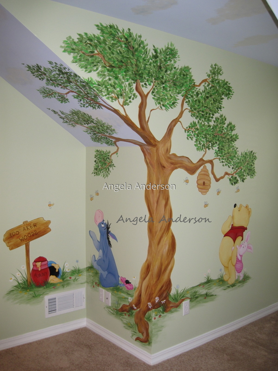 Winnie the Pooh Mural (large view)