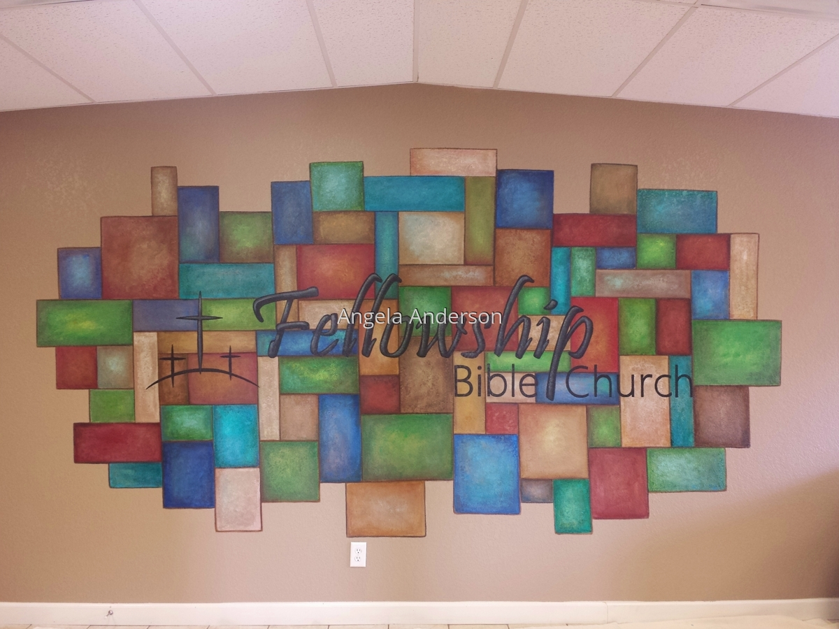 Fellowship Bible Church Lobby Mural (large view)