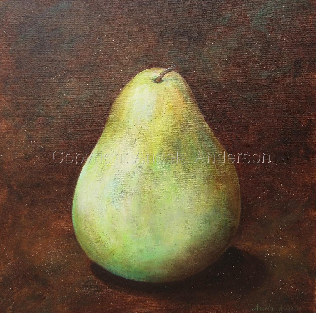 Large Green Pear (large view)