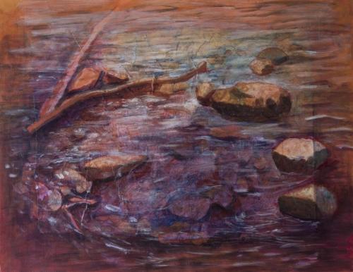 River by                                                   Anita L. Rodriguez