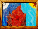 Painting--Acrylic-AbstractEqual Fire