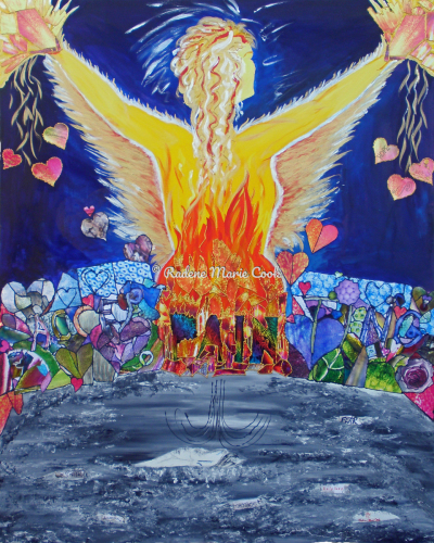 Phoenix Rising by Radene Marie Cook / PainArtist.com