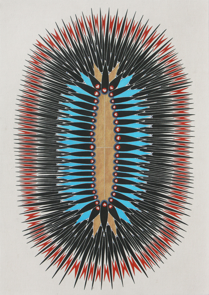 Spikey Shield (large view)