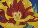 Tulip on Blue (thumbnail)