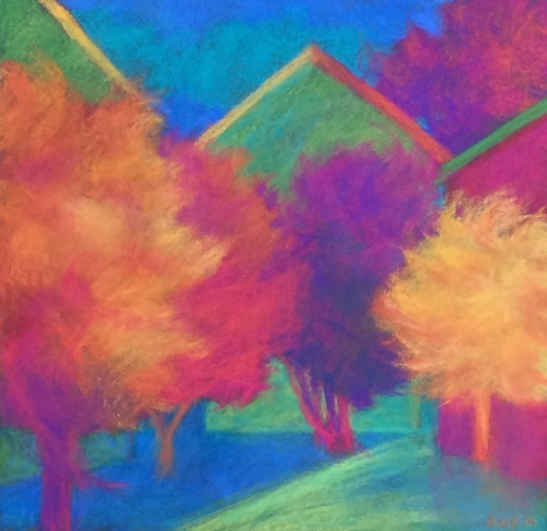 Houses and Flame Trees