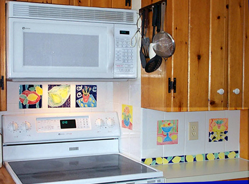 INSTALLATION IN A SMALL KITCHEN