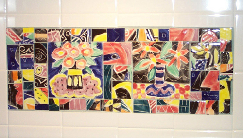 Picasso Tile Mural Mosaic