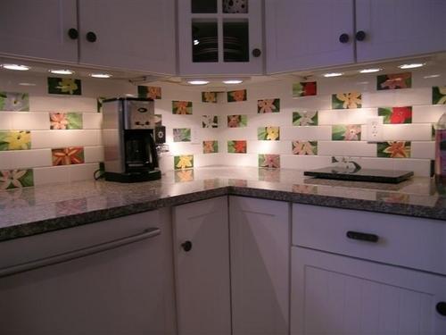 Lily Subway Tiles in Kitchen Backsplash