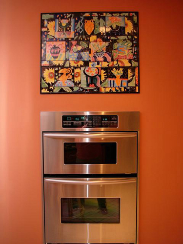 St Louis Kitchen with Picasso Mosaic Mural