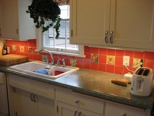 "Minnesota Kitchen with 4""tiles"