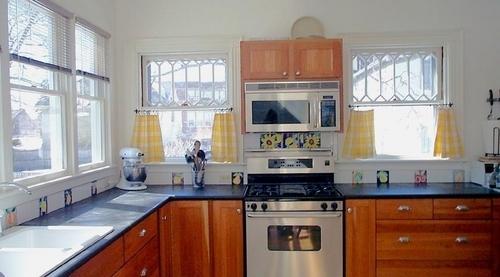 Majolica Tiles Kitchen Backsplash