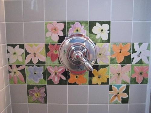 Virginia shower installation