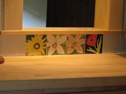 installation majolica tile