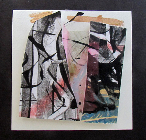 "Dimensional Collage 6""sq7"