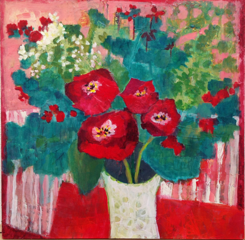 Plaza Garden Poppies