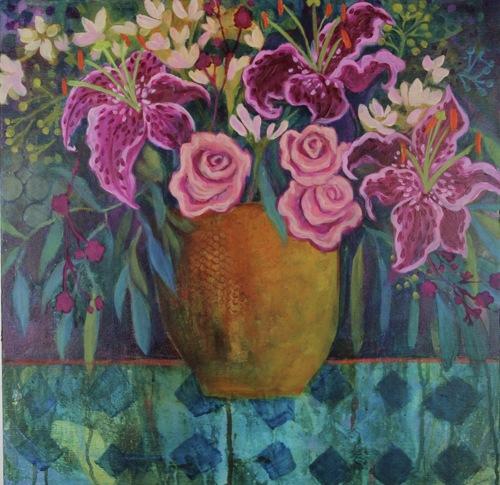Pink & Blue Spring