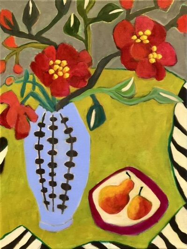 Peonies & Pears