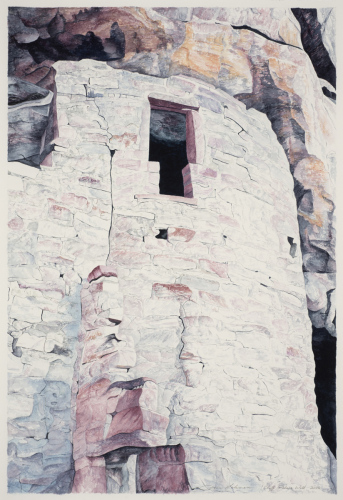 Cliff Palace Wall