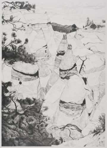 Tent Rocks VI by Ann Lehman