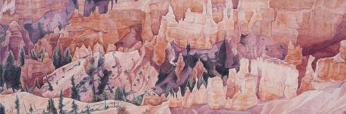 Bryce Canyon Landscape by Ann Lehman