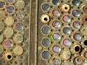 Photography--Color-AbstractSidewalk Philadelphia Hoop Skirt Factory