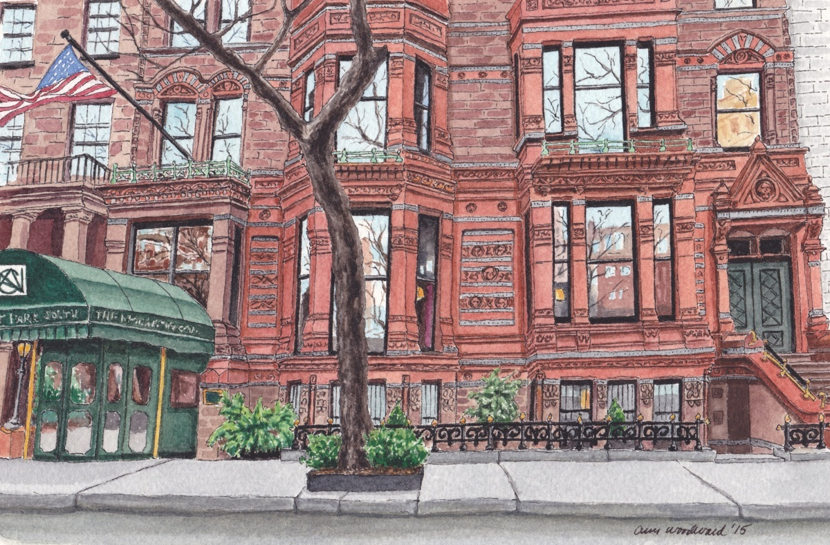 National Arts Club, Gramercy Park (large view)