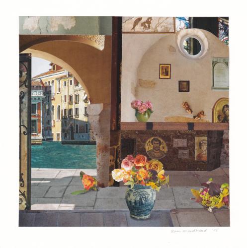 Mercato Shrines by Ann Woodward
