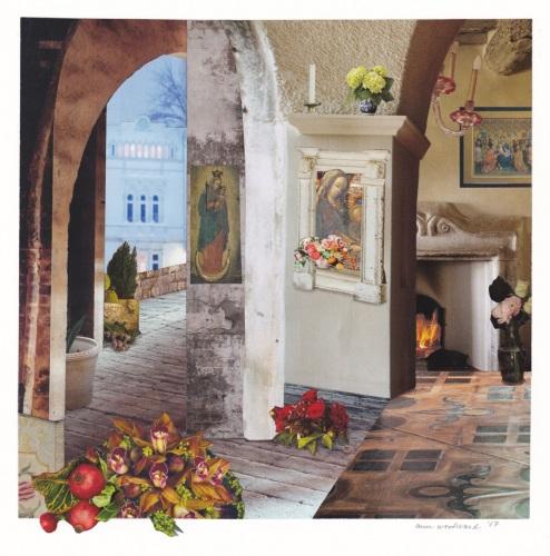 Winter Interior by Ann Woodward