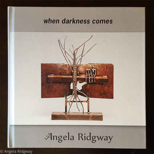'when darkness comes' hardcover book by Angela Ridgway