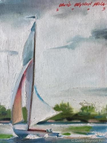 Sailing series 3: Before the Wind
