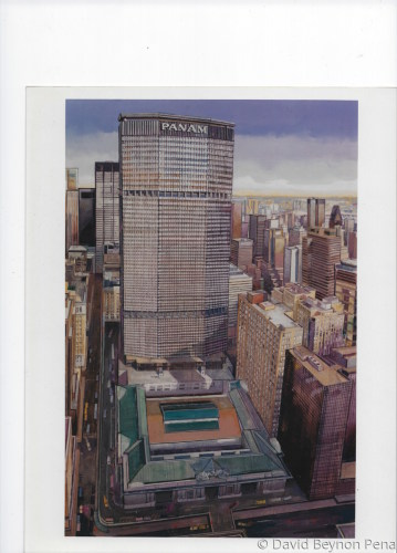 Grand Central and Pan Am Building