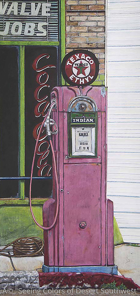 Pink Gas Pump (large view)