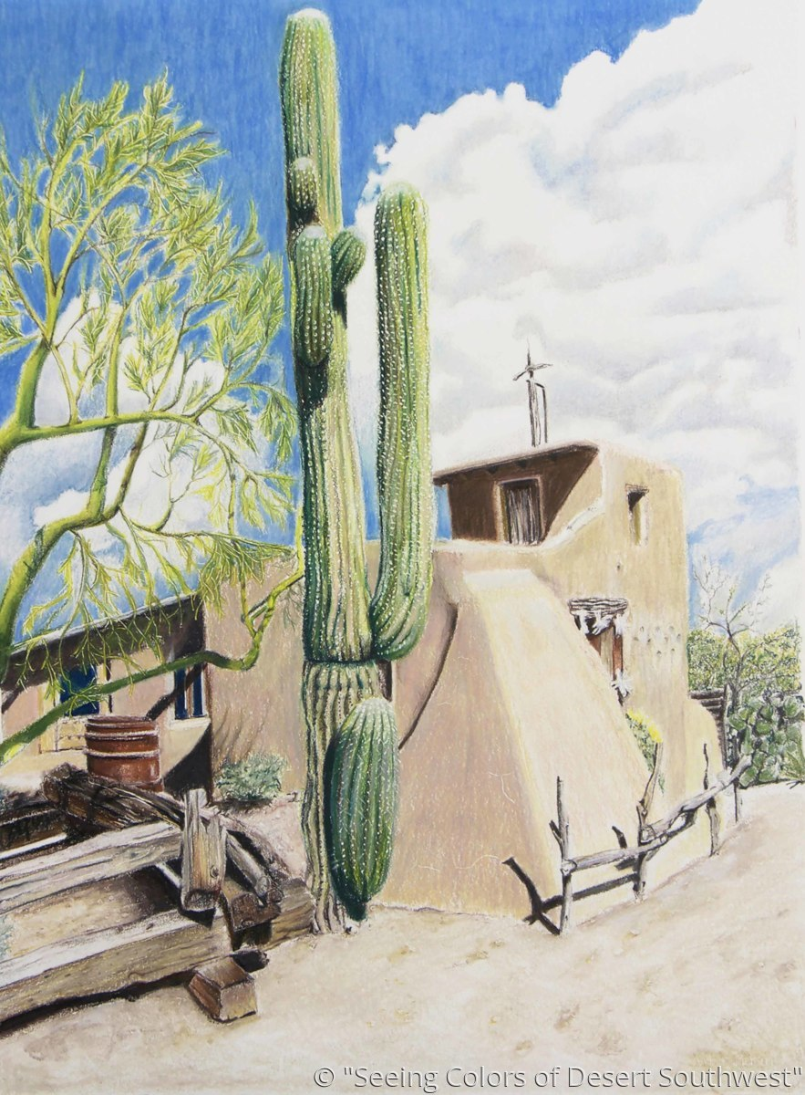 """""""Chapel in the Sun"""" (large view)"""