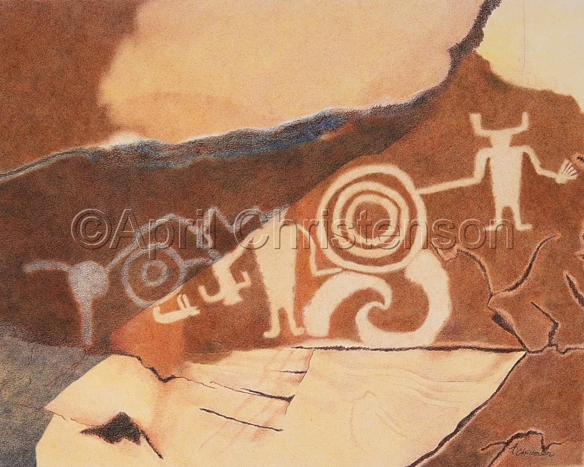 Petroglyph Shadows (large view)