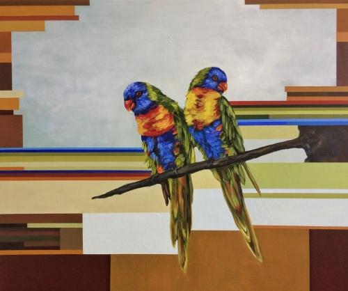 RainbowLorikeets