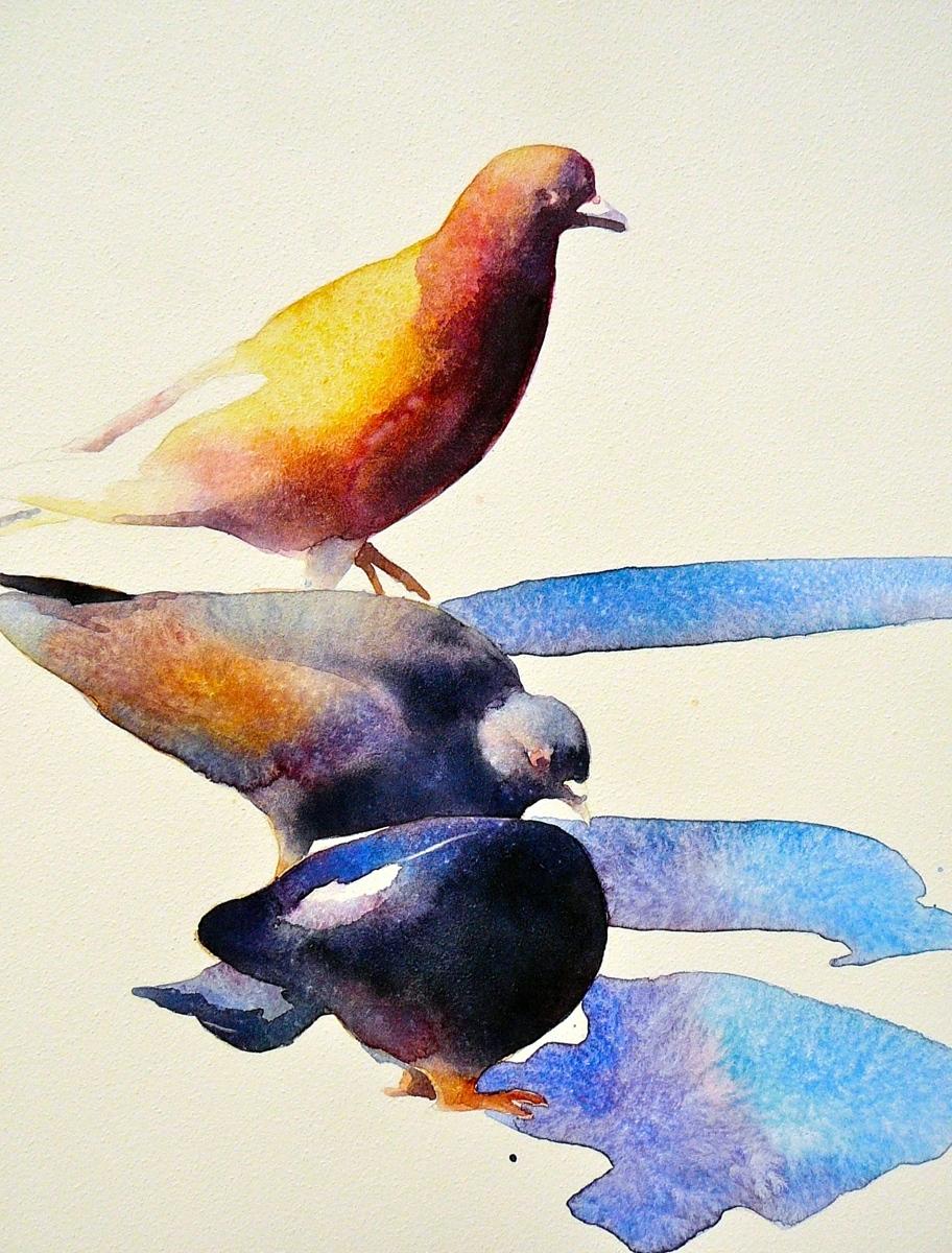Pecking order (large view)