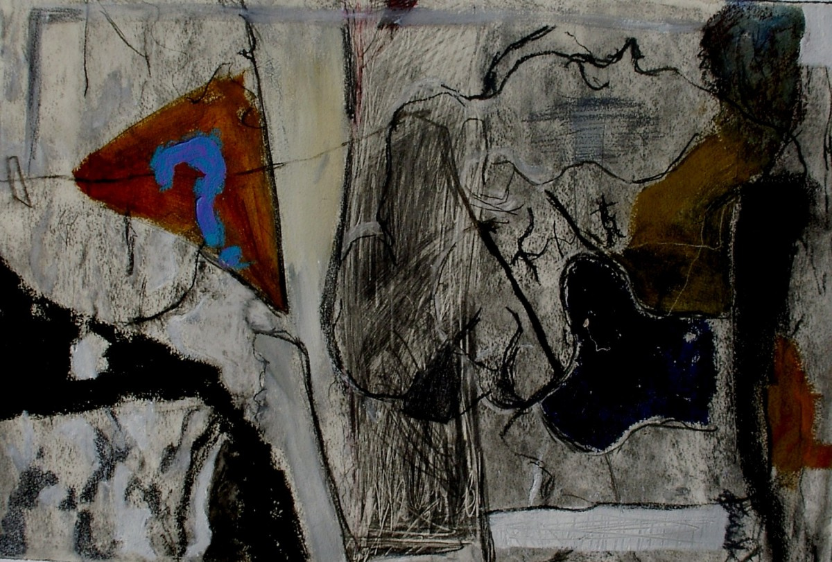 Abstract work on paper,  . (large view)