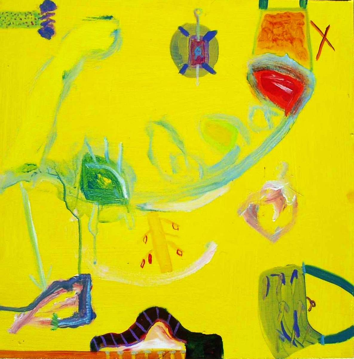 'Yellow Purse' 2015 (large view)